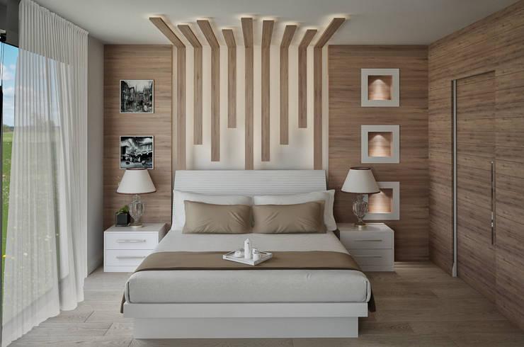 Ramazan Yücel İç mimarlık  – nrgn hnm proje:  tarz Yatak Odası
