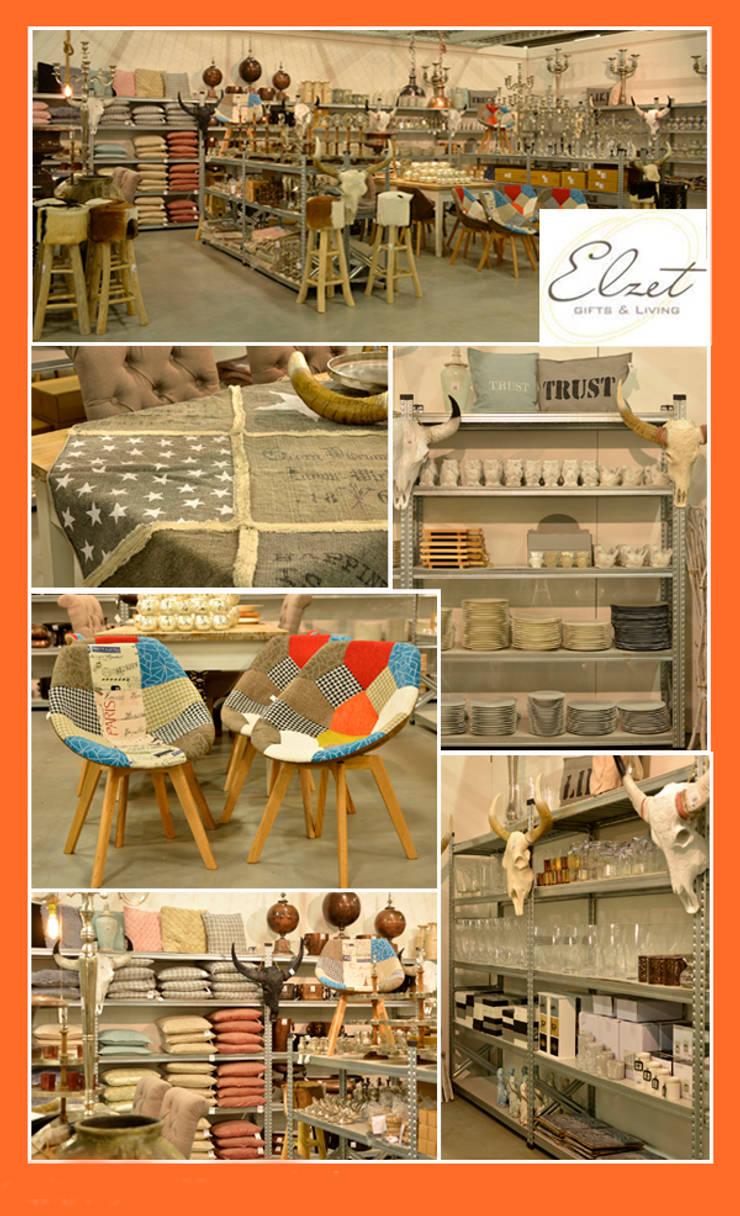 Elzet Gifts & Living:  Woonkamer door Groothandel in decoratie en lifestyle artikelen