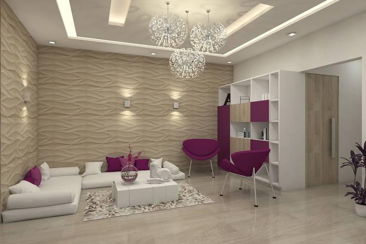 Nidhi Sharma's  Residence:   by De Panache  - Interior Architects