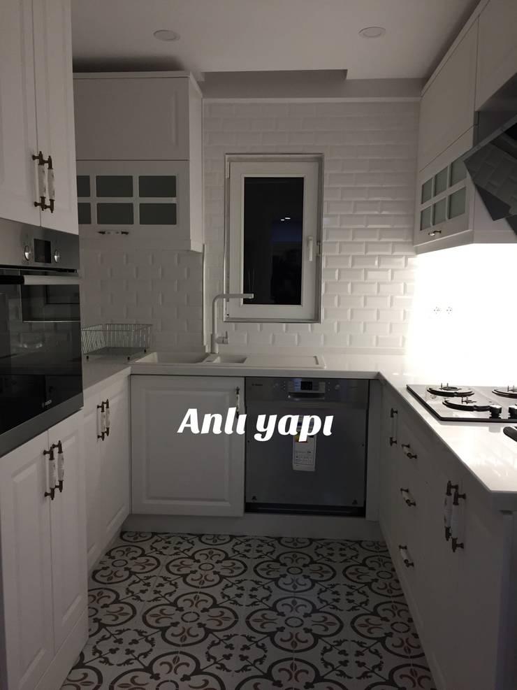 anlı yapı dekorasyon – mutfak tadilatı:  tarz İç Dekorasyon