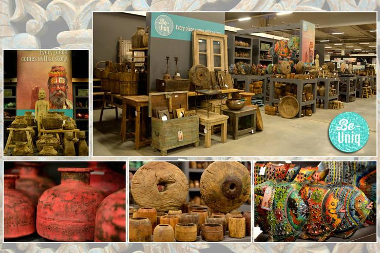 Be-uniq:  Woonkamer door Groothandel in decoratie en lifestyle artikelen
