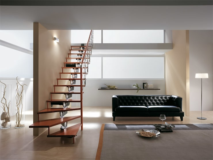 Corridor, hallway & stairs by Rintal