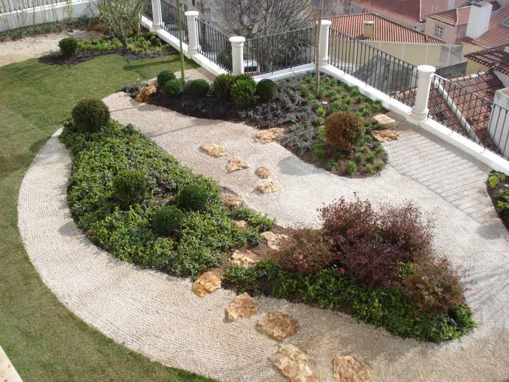 Jardim japonês:   por Jardins do Paço