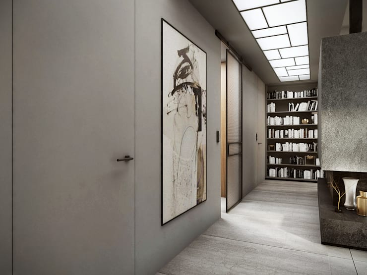 Corredores e halls de entrada  por razoo-architekci