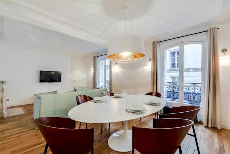 modern Dining room by ATELIER FB