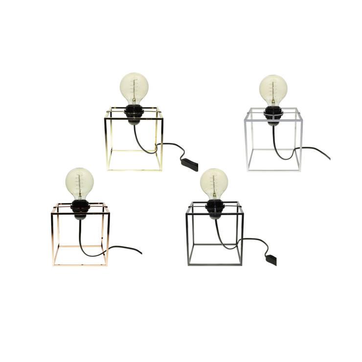Object / Light Cube Stand: SANUC의 현대 ,모던 금속