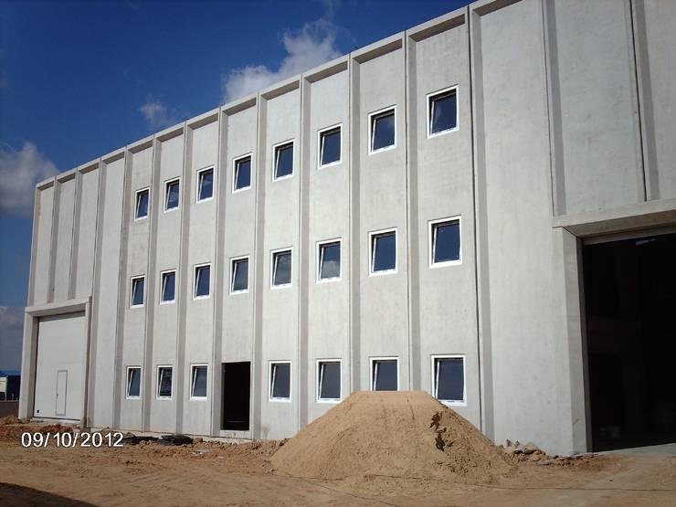 MAG Tasarım Mimarlık İnşaat Emlak San.ve Tic.Ltd.Şti. – Vizyon Tekstil Çorlu: modern tarz , Modern