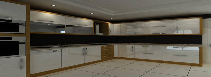 AKmobilya dekorasyon – AKmobilya dekorasyon:  tarz Mutfak, Modern Bambu Yeşil