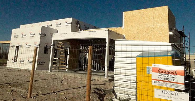 Vivienda Unifamiliar: Casas de estilo  por Lineasur Arquitectos