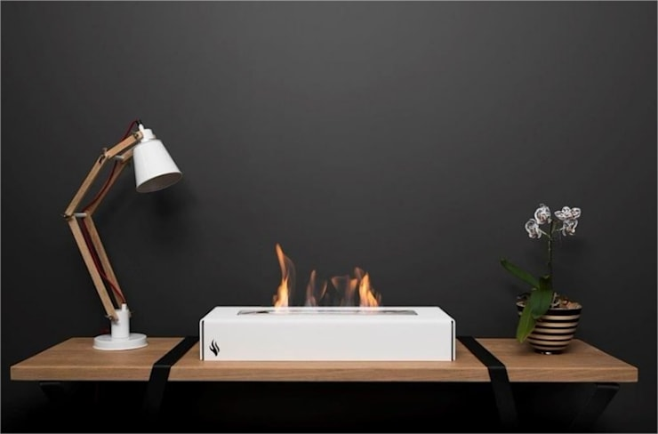 Delux Range:  Living room by EcoFlames