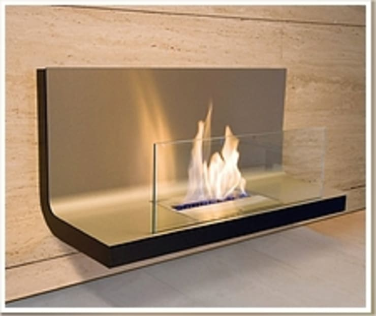 Wall Units:  Living room by EcoFlames