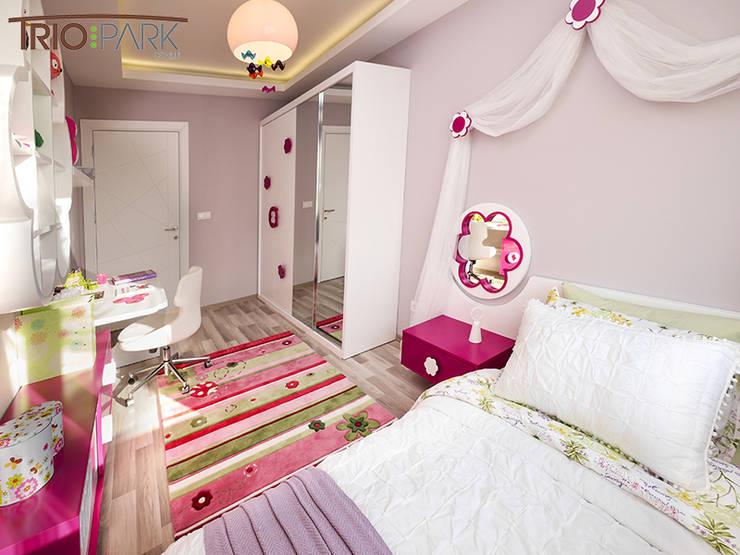 MAG Tasarım Mimarlık İnşaat Emlak San.ve Tic.Ltd.Şti. – TrioParkKonut Çorlu - Örnek Daire:  tarz Çocuk Odası