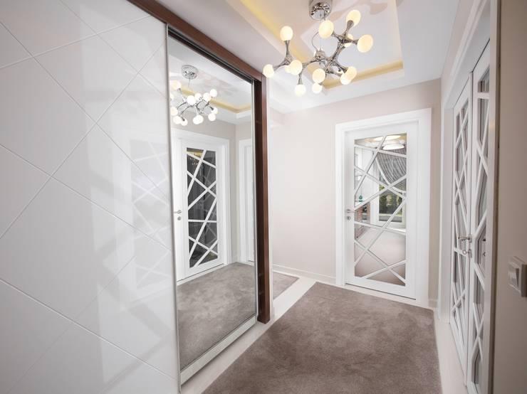 MAG Tasarım Mimarlık İnşaat Emlak San.ve Tic.Ltd.Şti. – TrioParkKonut Çorlu – Örnek Daire:  tarz Yatak Odası, Modern