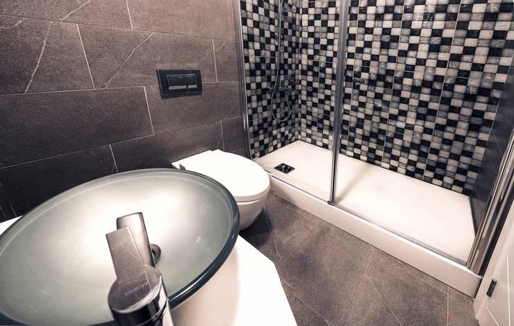 MAG Tasarım Mimarlık İnşaat Emlak San.ve Tic.Ltd.Şti. – TrioParkKonut Çorlu - Örnek Daire:  tarz Banyo