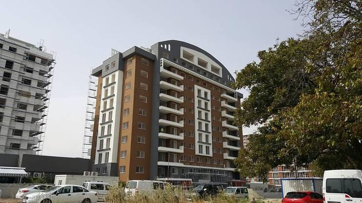 MAG Tasarım Mimarlık İnşaat Emlak San.ve Tic.Ltd.Şti. – TrioParkKonut Çorlu:  tarz Evler, Modern