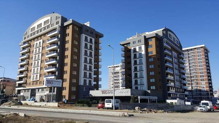 MAG Tasarım Mimarlık İnşaat Emlak San.ve Tic.Ltd.Şti. – TrioParkKonut Çorlu:  tarz Evler