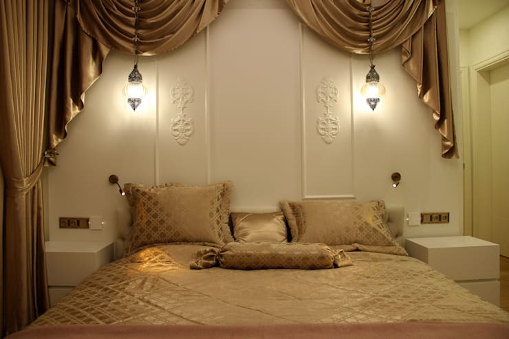 eclectic Bedroom by 50GR Mimarlık
