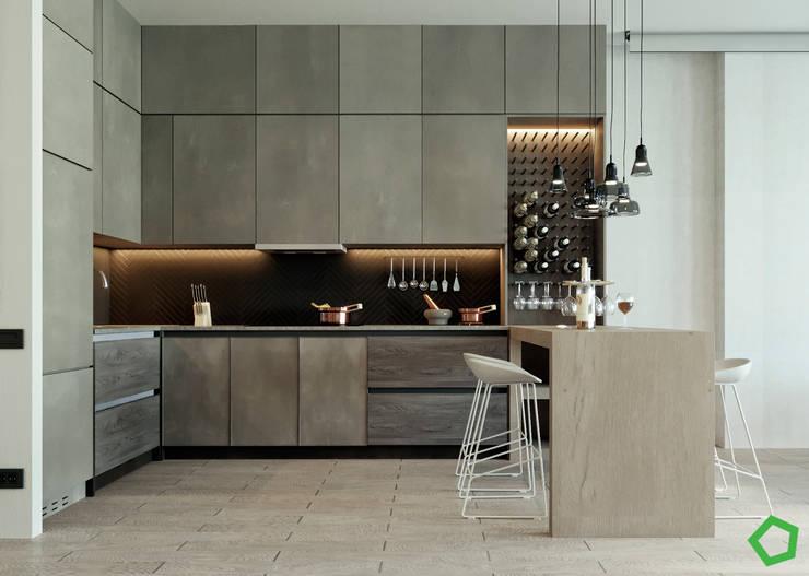 مطبخ تنفيذ Polygon arch&des