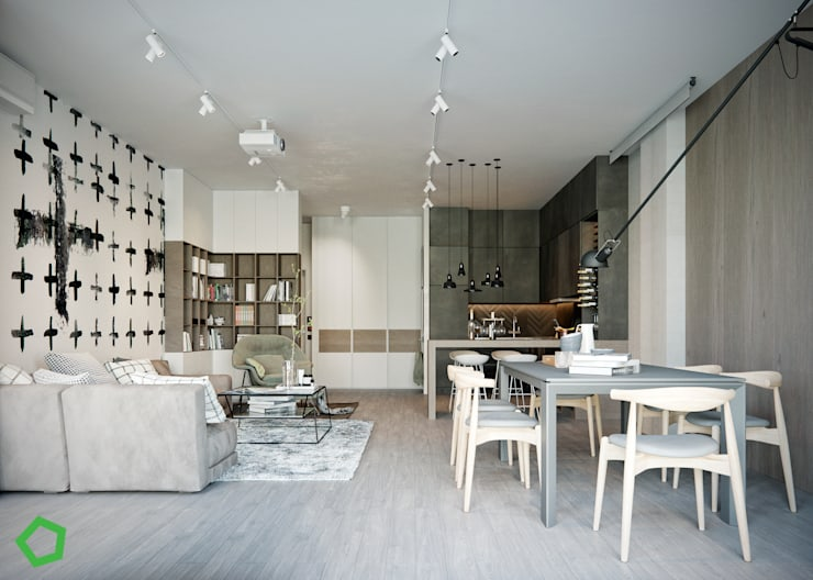 Living room by Polygon arch&des