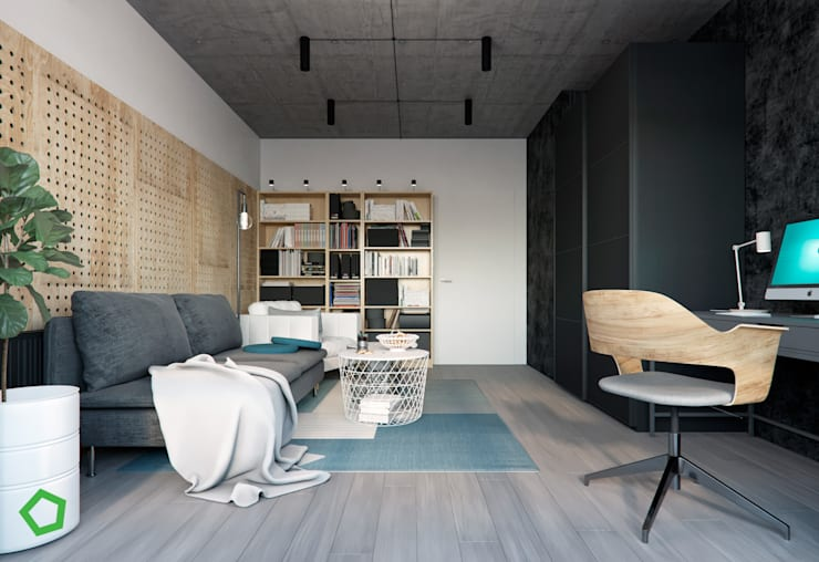 Study/office by Polygon arch&des