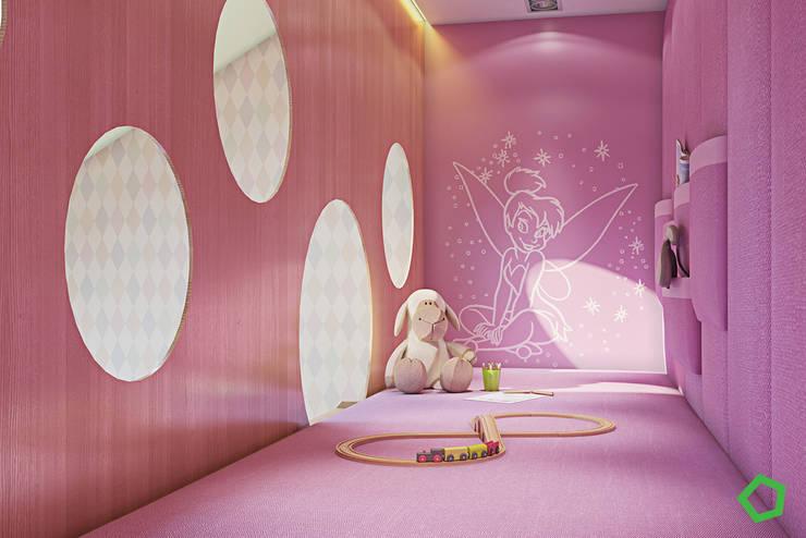 غرفة الاطفال تنفيذ Polygon arch&des