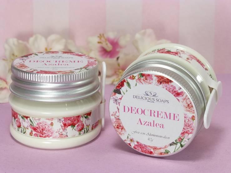 Azalea Deodorant Creme - Deo ohne Aluminium von Delicious Soaps Seifenmanufaktur Klassisch