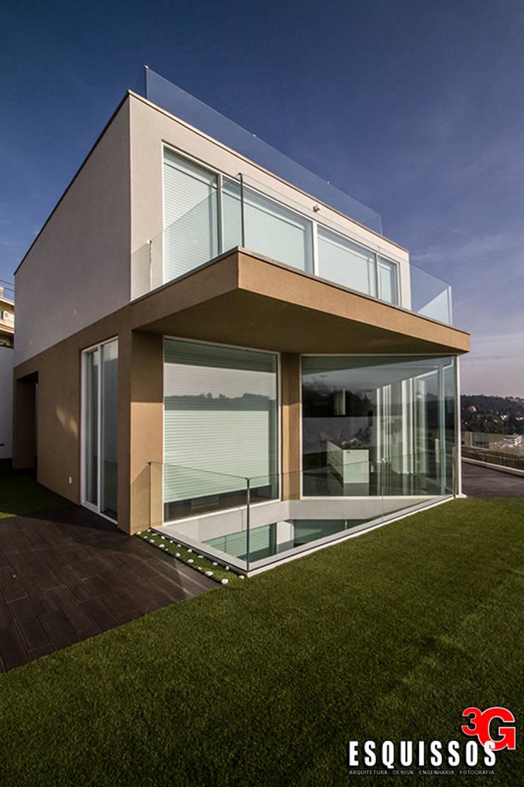 Casa I+R (em colaboração com o Gabinete <q>Esquissos 3G</q>): Casas  por Ricardo Baptista, Arquitecto