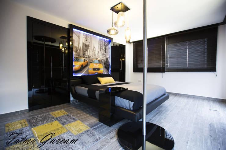 Bedroom by Fatma Gürçam İçmekan Tasarım ve Uygulama