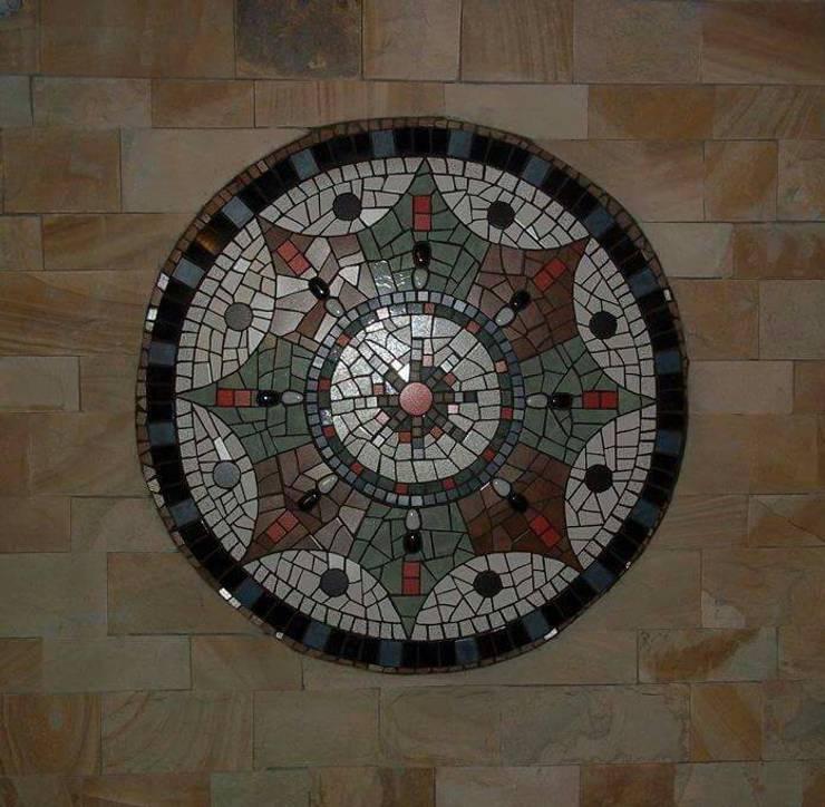 Murs de style  par sueños en mosaico, Moderne