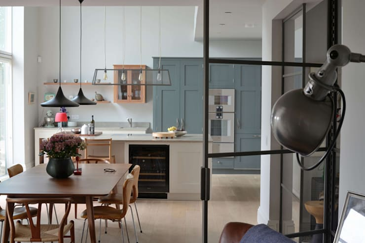 House refurbishment and extensions:  Kitchen by BBM Sustainable Design Limited