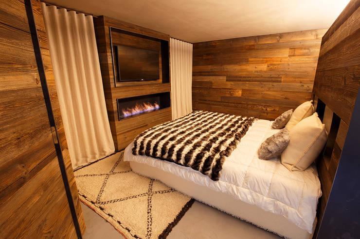 غرفة نوم تنفيذ BEARprogetti - Architetto Enrico Bellotti