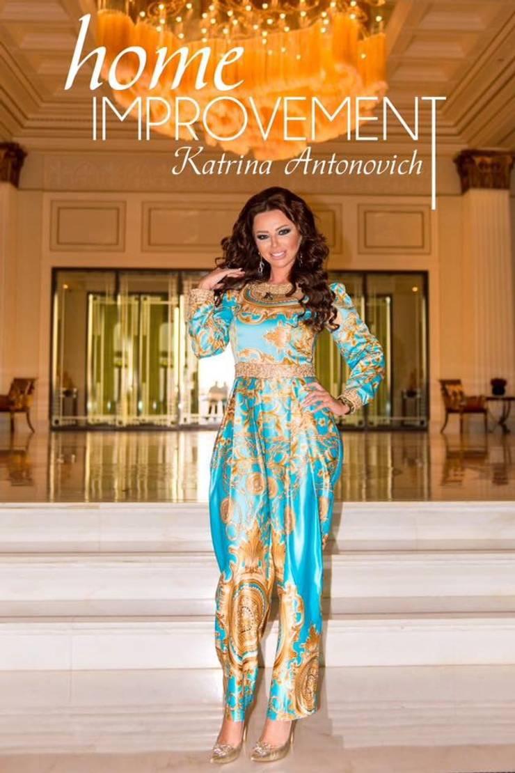 Eastern hospitality interiors Katrina Antonovich:  Dining room by Luxury Antonovich Design