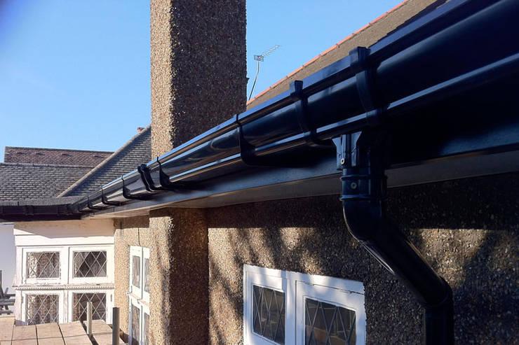 Installing Durable Gutters:   by Waterproofers Johannesburg