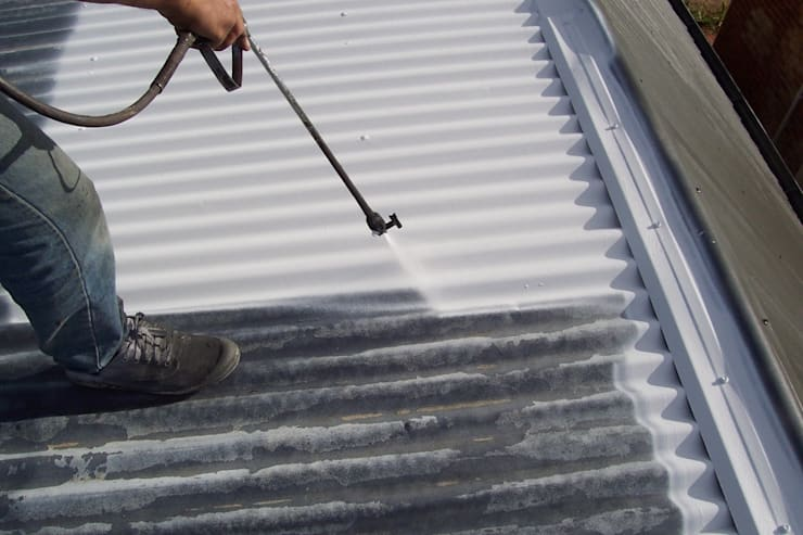 Roof Coating:   by Waterproofers Johannesburg