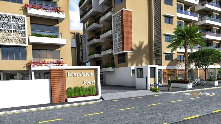 Entrance: modern Houses by ni3design