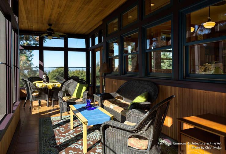 Patricia K Emmons - Rural Oregon Craftsman Home - Interior 12:  Schlafzimmer von Chibi Moku