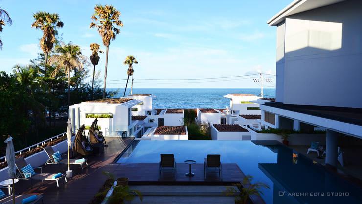 Piscinas de estilo  por D' Architects Studio