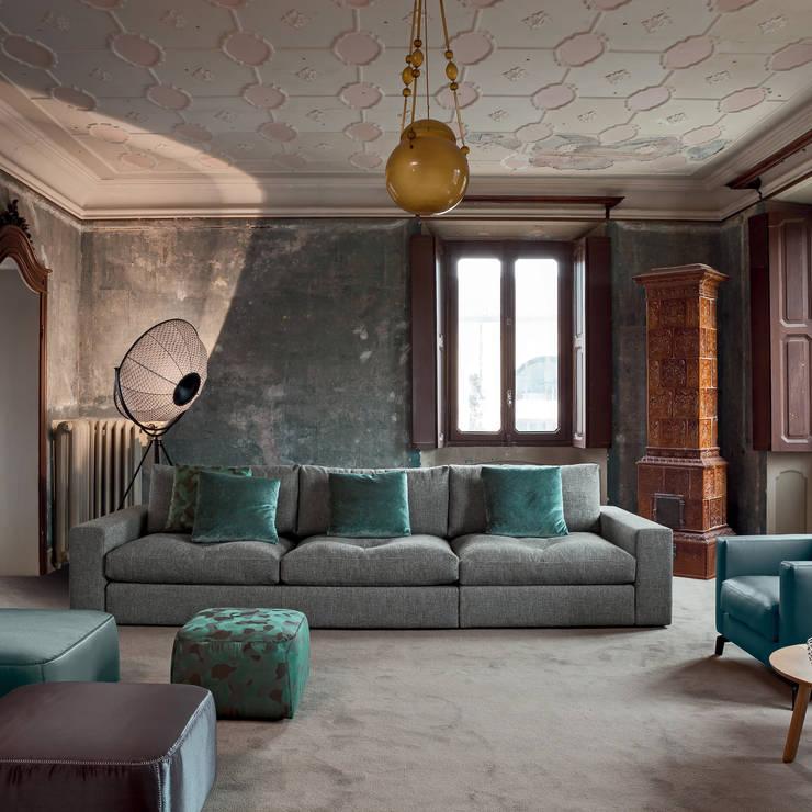 Living room تنفيذ IQ Furniture