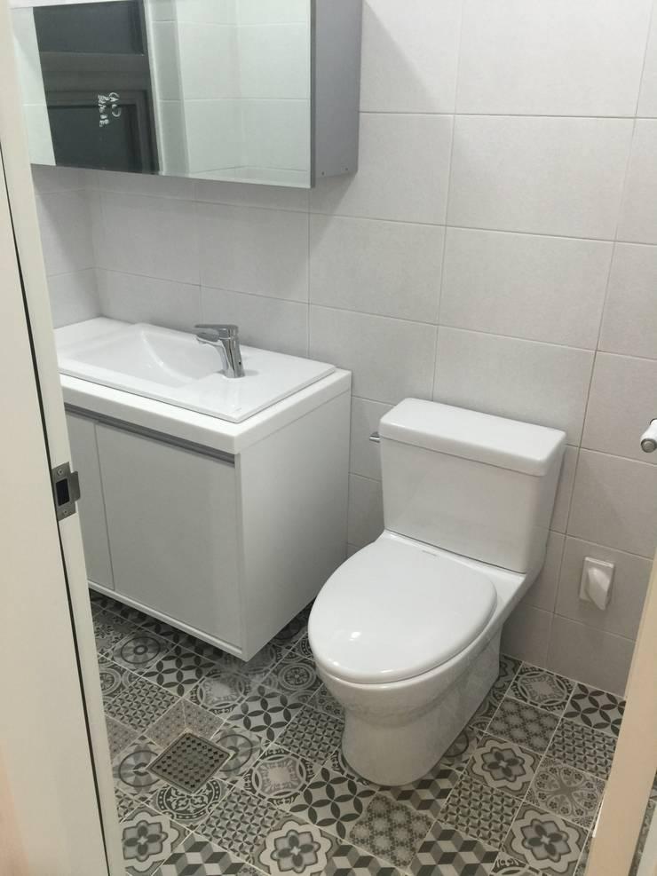 용수리 단독주택: 위상공간의  욕실