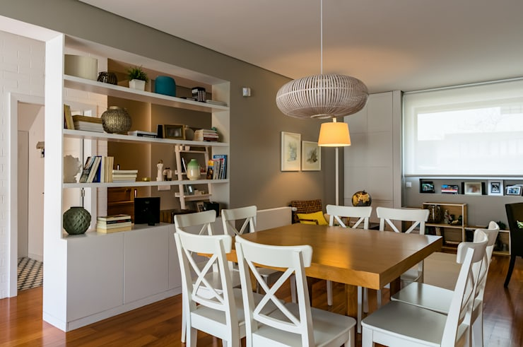 Sala de Jantar: Salas de jantar  por Franca Arquitectura