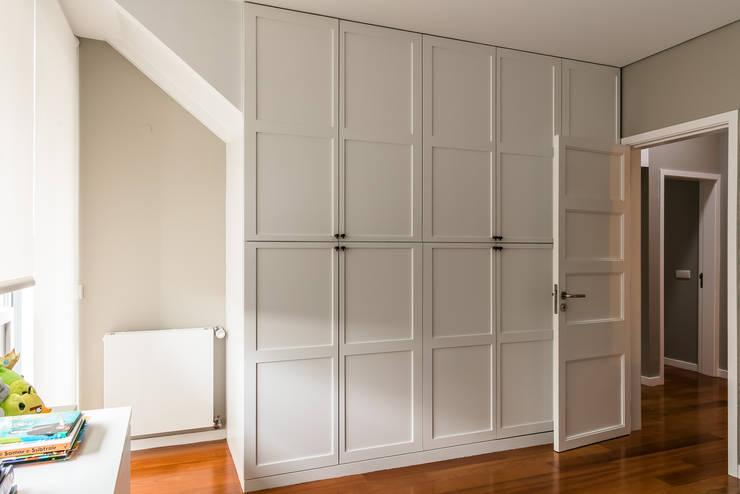غرفة الملابس تنفيذ Franca Arquitectura
