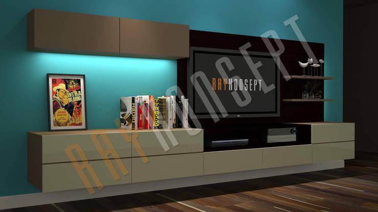RayKonsept – Tv Ünitesi:  tarz Oturma Odası,