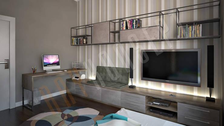modern Living room by RayKonsept