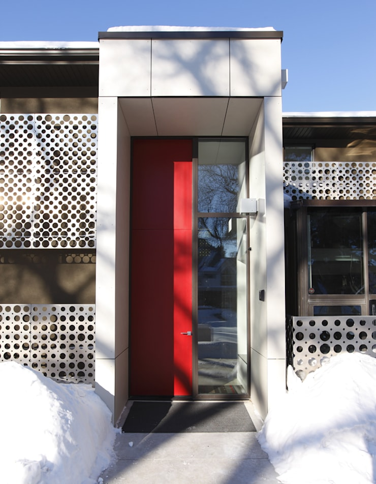 Handsart Residence Exterior:  Houses by Unit 7 Architecture