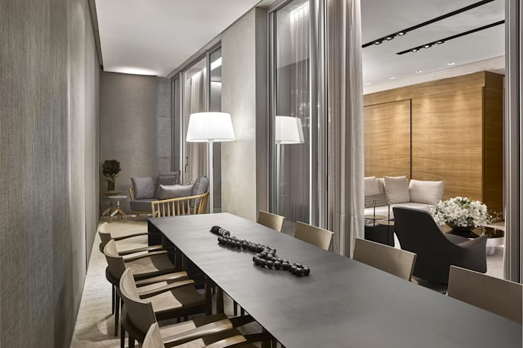 Patios & Decks by Alessandra Contigli Arquitetura e Interiores