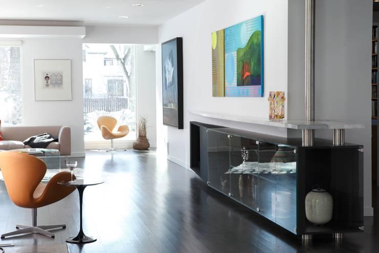 Ruang Studi/Kantor Modern Oleh Unit 7 Architecture Modern