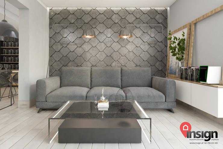 CHO_01: styl , w kategorii Salon zaprojektowany przez InSign Pracownia Projektowa Karolina Wójcik,