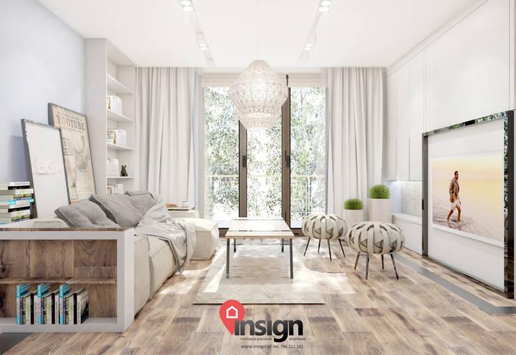 Kat_02: styl , w kategorii Salon zaprojektowany przez InSign Pracownia Projektowa Karolina Wójcik,