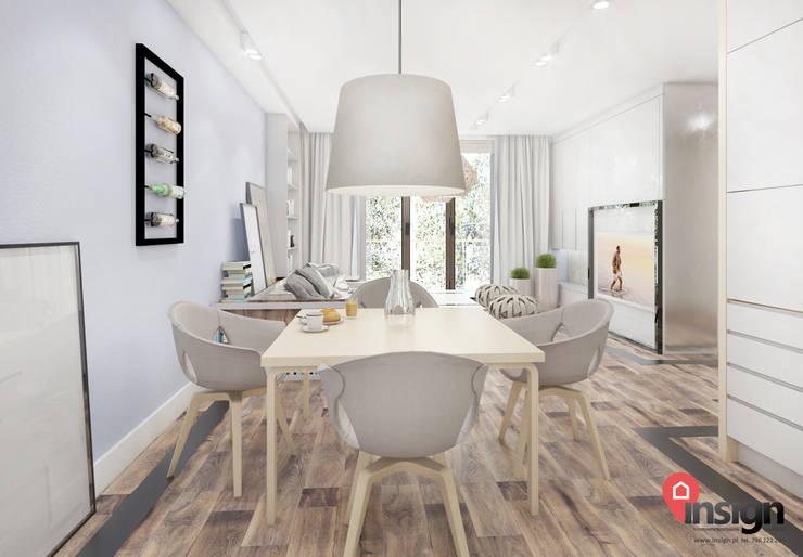 Kat_02: styl , w kategorii Jadalnia zaprojektowany przez InSign Pracownia Projektowa Karolina Wójcik,