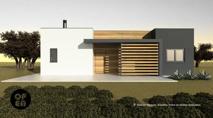Moradia T2 - Construção LSF:   por ATELIER OPEN ® - Arquitetura e Engenharia